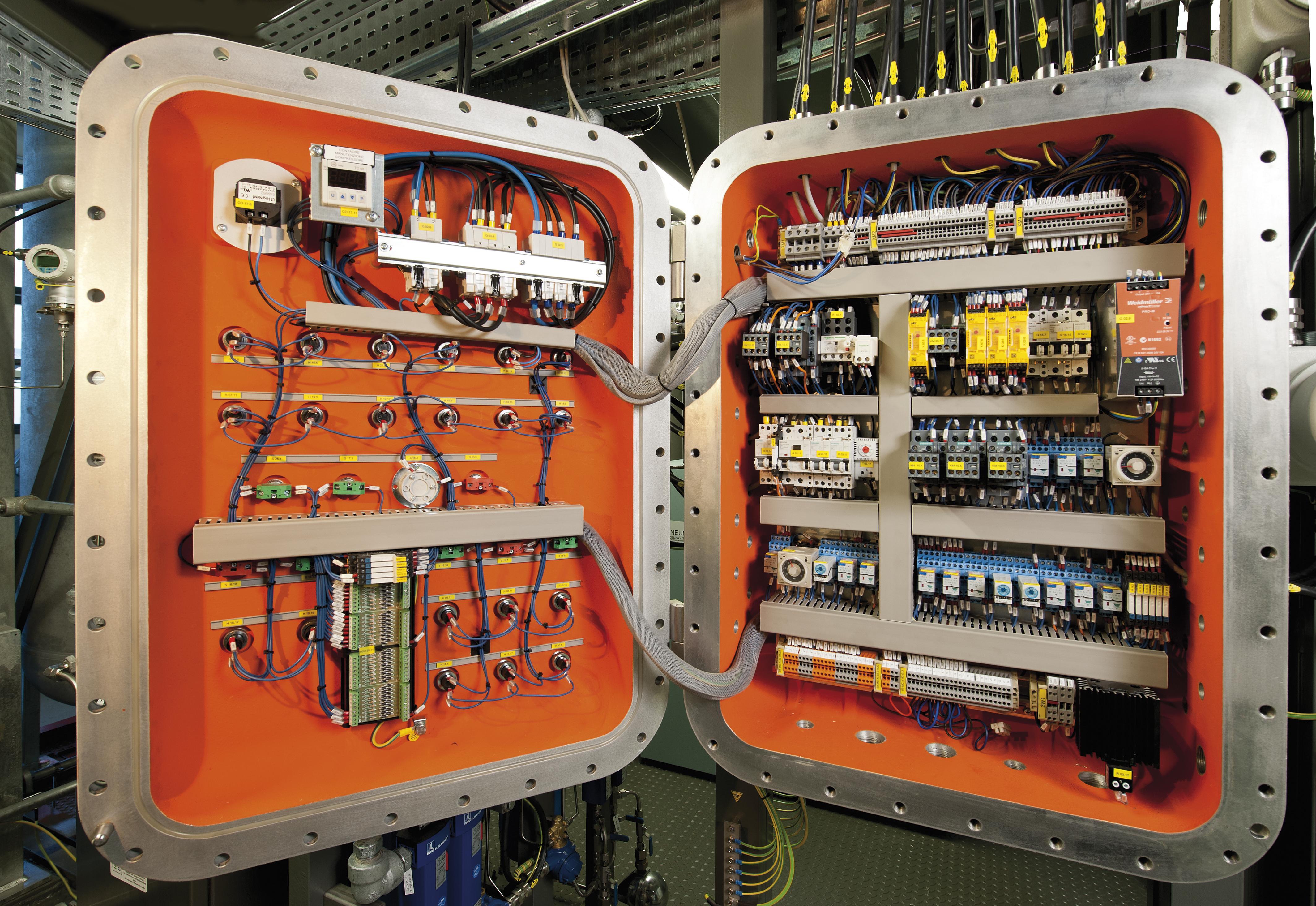 Quadri elettrici EEX-D - Pneumoidraulica Engineering